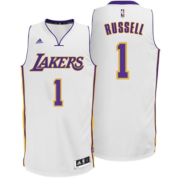 3d506eaf adidas Shirts | Dangelo Russell Lakers Jersey | Poshmark